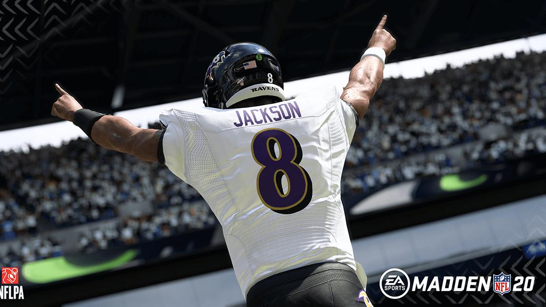 Lamar Jackson: el candidato más probable para la portada de Madden 21