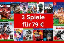 Photo of MediaMarkt 3 por 79 € y 3 por 49 €: compre 3 juegos y ahorre en grande
