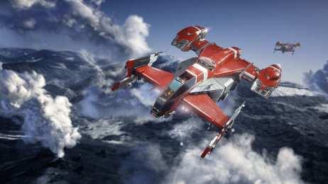 Star Citizen Drake Cutlass Rojo (2)