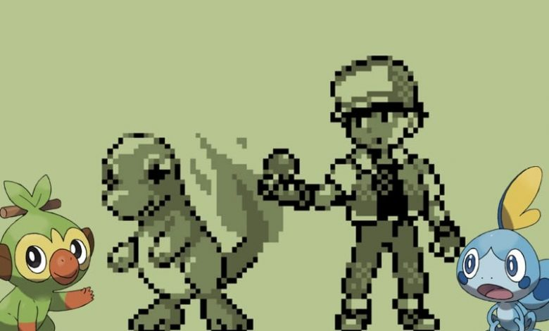 Pokemon sword and shield vs capturas de pantalla rojas y azules muestran cuán lejos ha llegado la serie