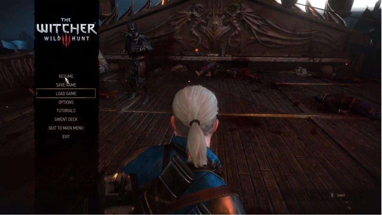 cómo cambiar la dificultad en Witcher 3