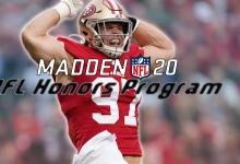 Photo of Madden 20 Ultimate Team: NFL Honors Program presenta al MVP Lamar Jackson, Stephon Gilmore, Nick Bosa y más