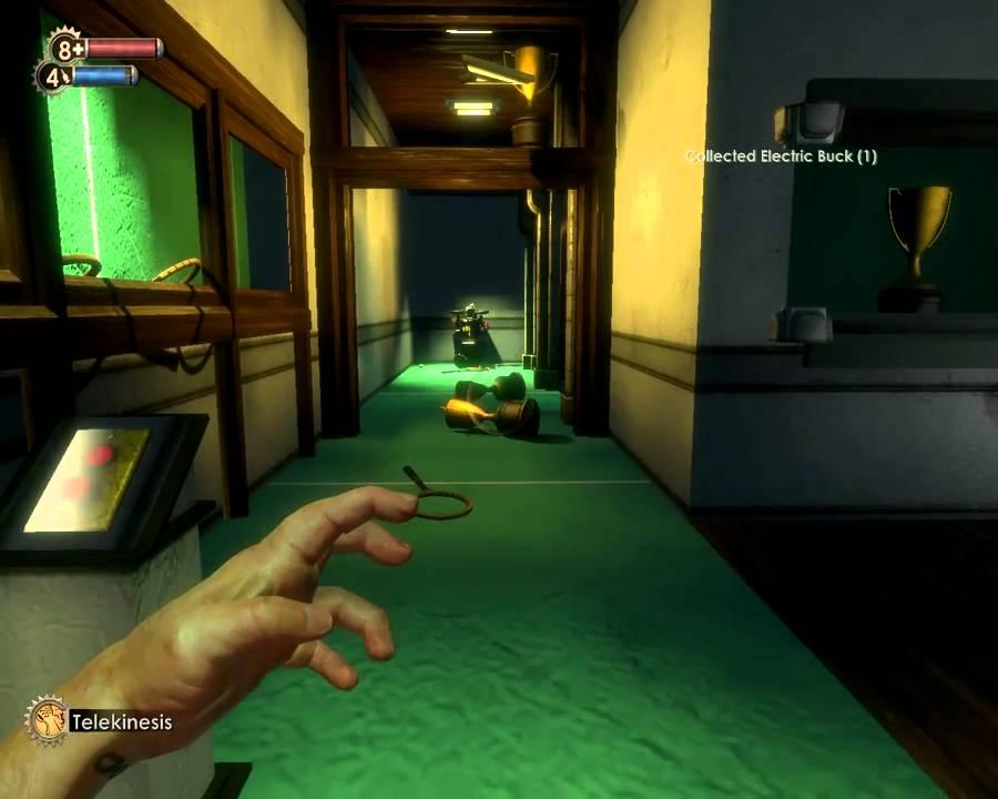 BioShock Chompers Dental Key Telekinesis