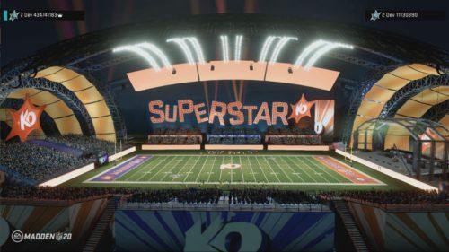Superstar ko stadium madden 21