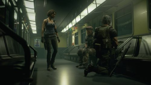 Resident Evil 3 personajes