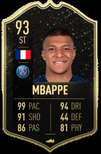 Mbappe totw 22