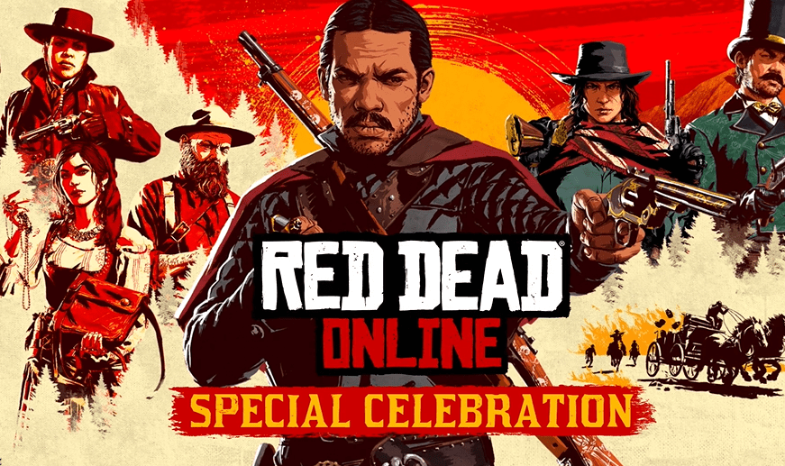 celebración en línea de muertos rojos