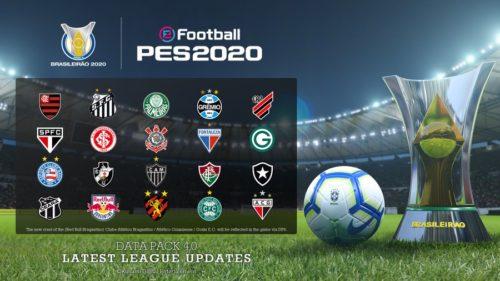 paquete de datos pes2020 4 0 ligas brasil