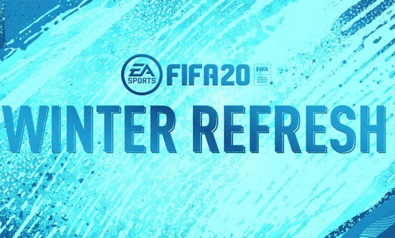 Se anuncia el FIFA 20: Winter Refresh Team - Detalles oficiales