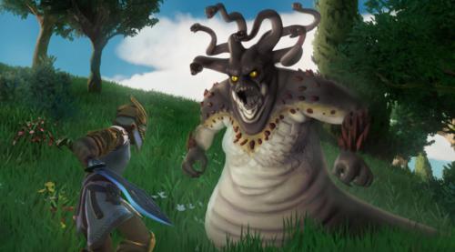 Dioses Monstruos enemigos