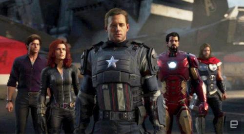 tráiler de Marvel Avengers