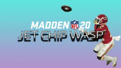 Photo of Madden 20: Master the Jet Chip Wasp Kansas City Chiefs Super Bowl play