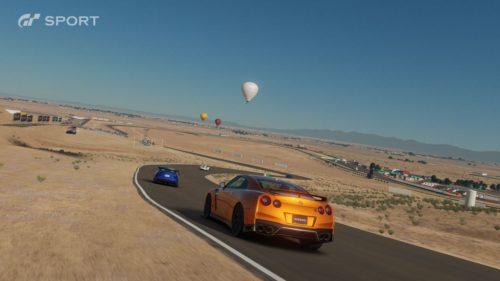 Gráficos increíbles de una pista del desierto en Gran Turismo Sport