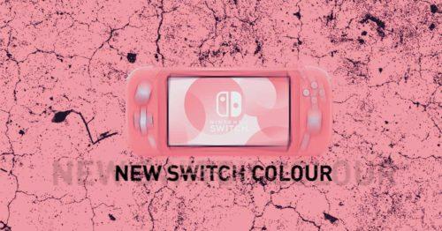 nuevo interruptor de color nintendo coral 1