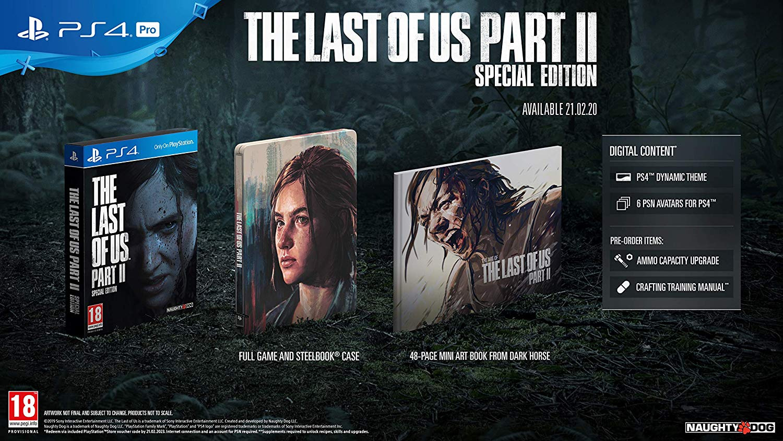 Todos los extras en la edición especial de The Last of Us 2
