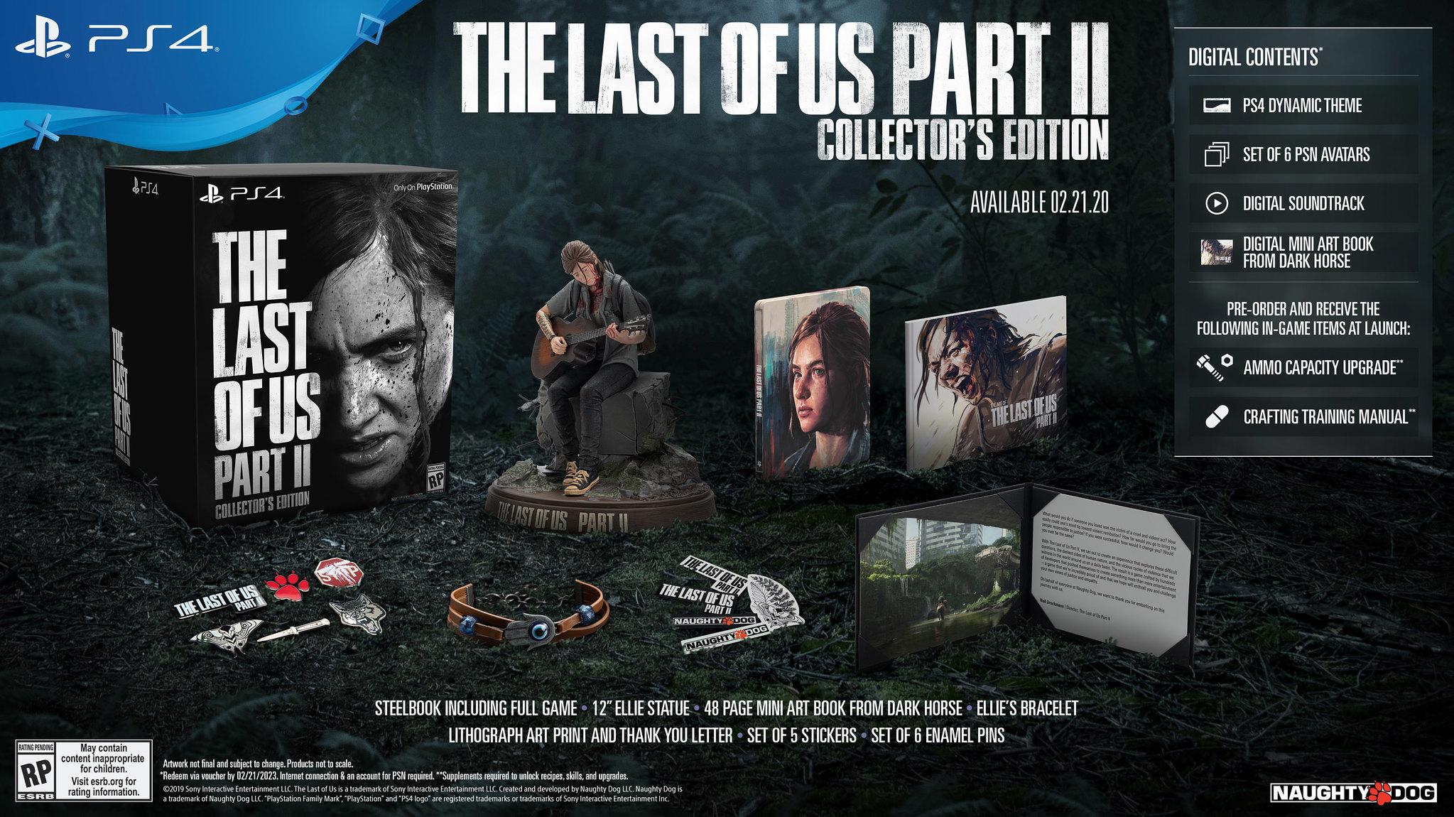 Una edición de coleccionista completamente cargada para The Last of Us Part II