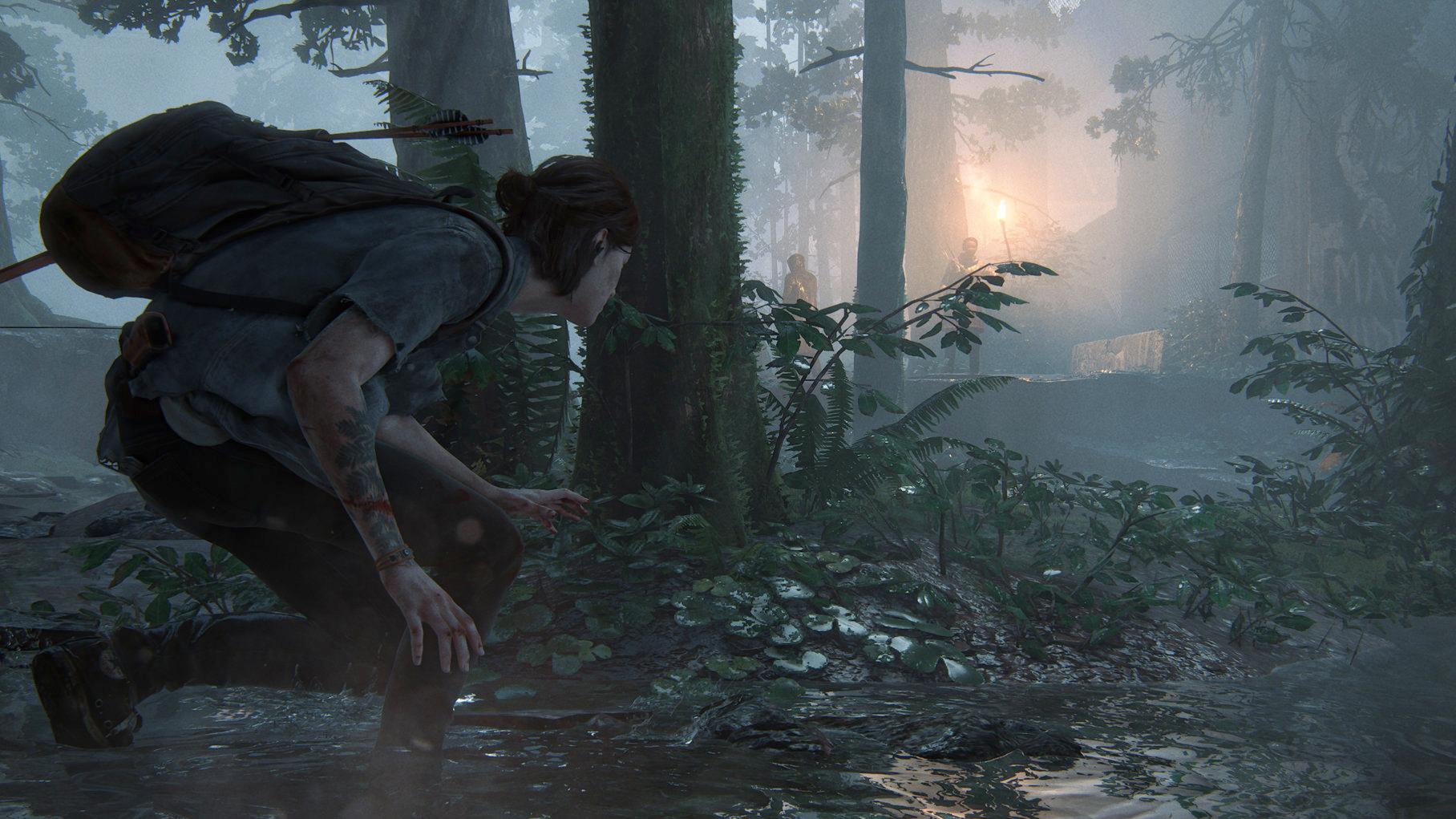 Ellie se cuela en The Last Of Us Part 2