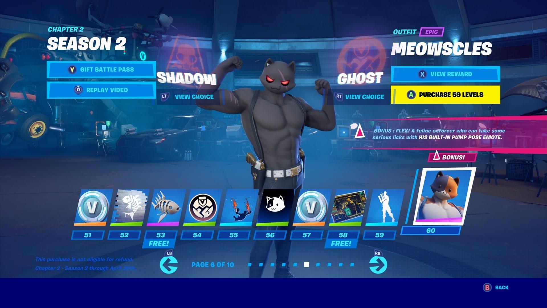 Fortnite Shadow Ghost Styles