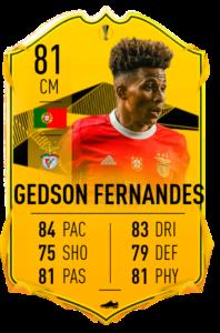 Gedson Fernandes rttf fut fifa 20