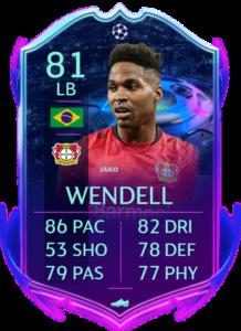 Wendell rttf fut fifa 20
