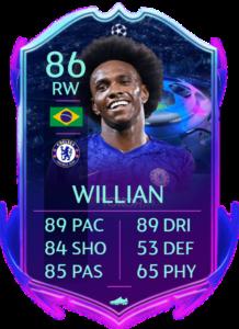 Willian rttf fut fifa 20