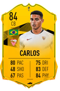 Carlos rttf fut fifa 20