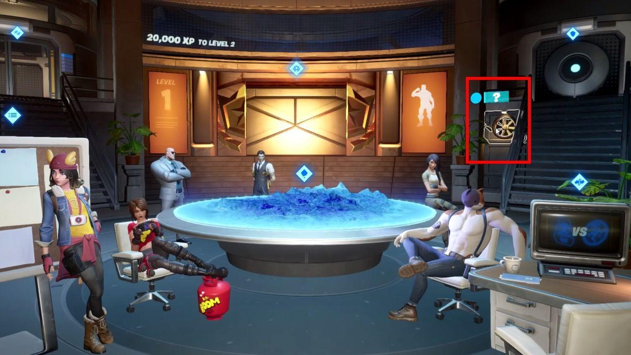 Sala secreta de Deadpool en Fortnite Season 2