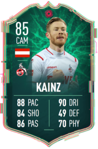 Kainz cambiaformas fifa 20