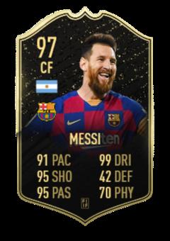 Messi TOTW 1