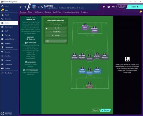 PSG FM20 Tactics 2