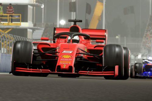 f1 2019 ferrari bahrein
