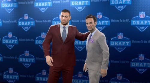 Madden 20 Draft de la NFL