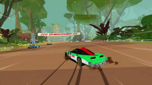 juego de captura de pantalla de carreras calientes