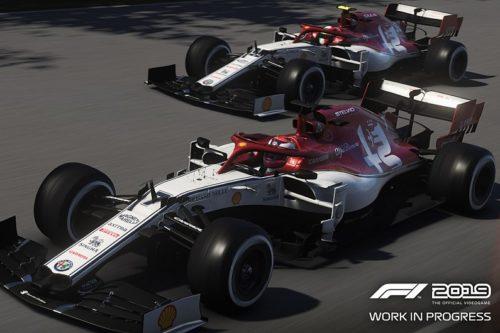 El equipo Alfa Romeo Sauber en F1 2019
