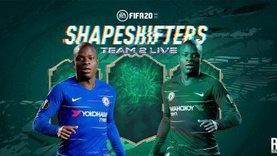 Photo of FIFA 20 Shapeshifters Team 2 ACTUALIZACIONES EN VIVO: Tiempo de lanzamiento, predicciones, cartas explicadas, fugas, sugerencias de pantalla de carga y más