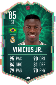 FIFA 20 Cambiaformas 2 Vinicius JR