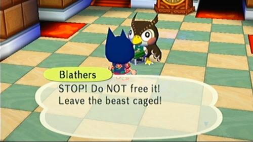 Museo de cruce de animales Blathers