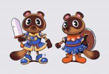 Photo of Artista reimagina a Animal Crossing Critters como héroes de rol