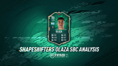 Photo of Cambiaformas FIFA 20 Lucas Olaza SBC: requisitos, costos y análisis