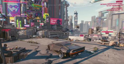 Ciudad Nocturna en Cyberpunk 2077