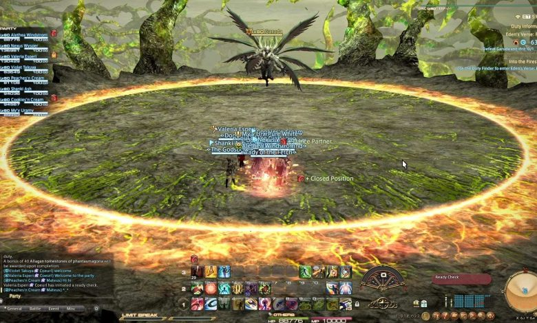 FFXIV: Eden's # Verse Furor E6 Raid Guide