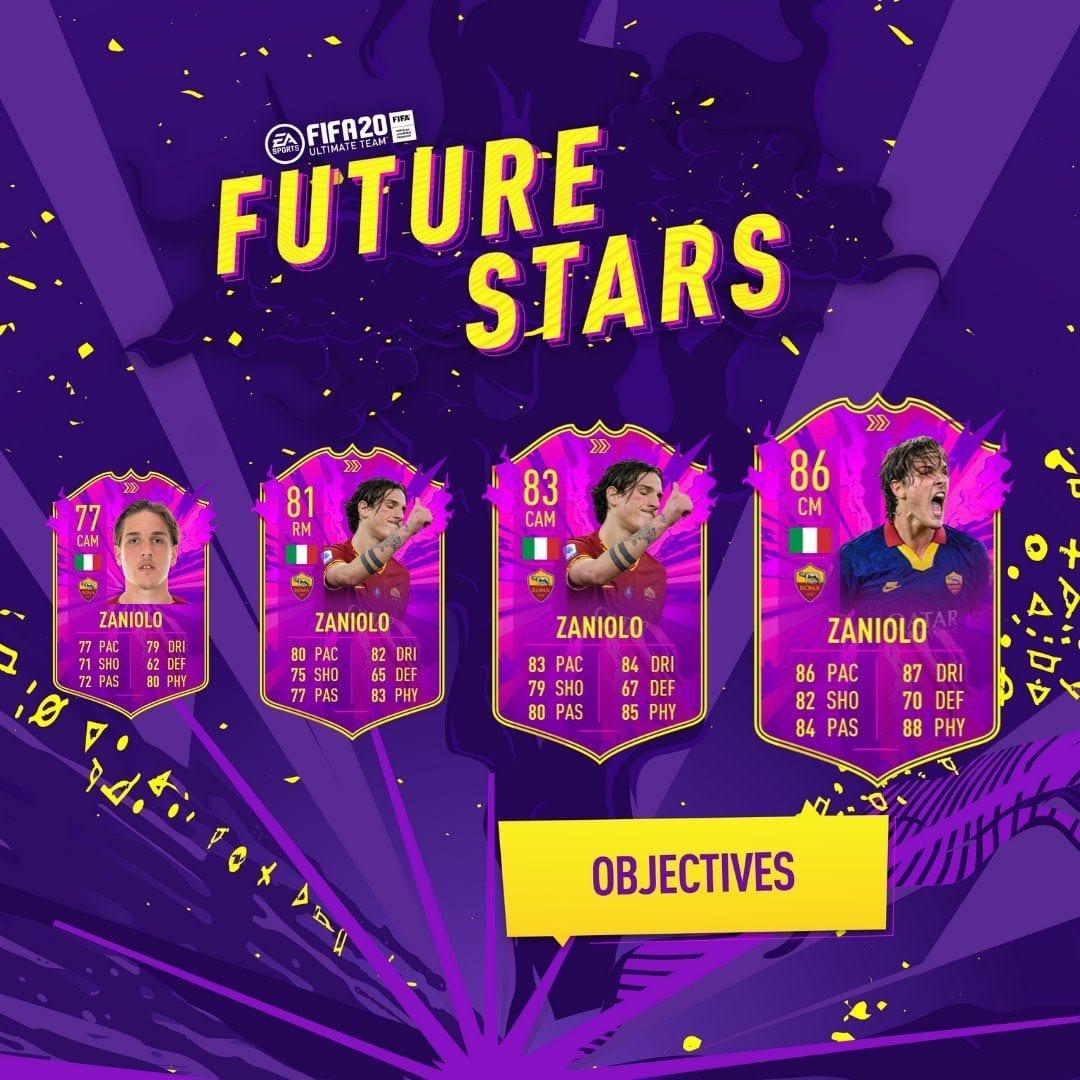 FIFA 20, futuras estrellas Zaniolo