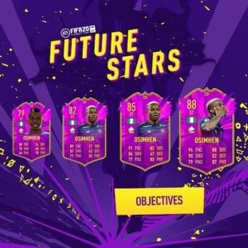 FIFA 20, futuras estrellas osimhen