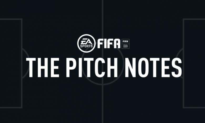 FIFA 20: Pitch Notes - Metodología de estudio de conectividad en vivo