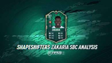 Photo of FIFA 20 Shapeshifters Denis Zakaria SBC: requisitos, costos y análisis