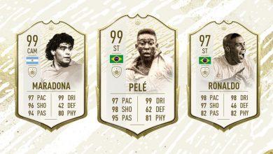 FIFA 20: anuncia los momentos de ícono