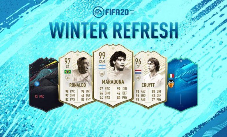 FIFA 20: dio a conocer los primeros tres momentos de íconos