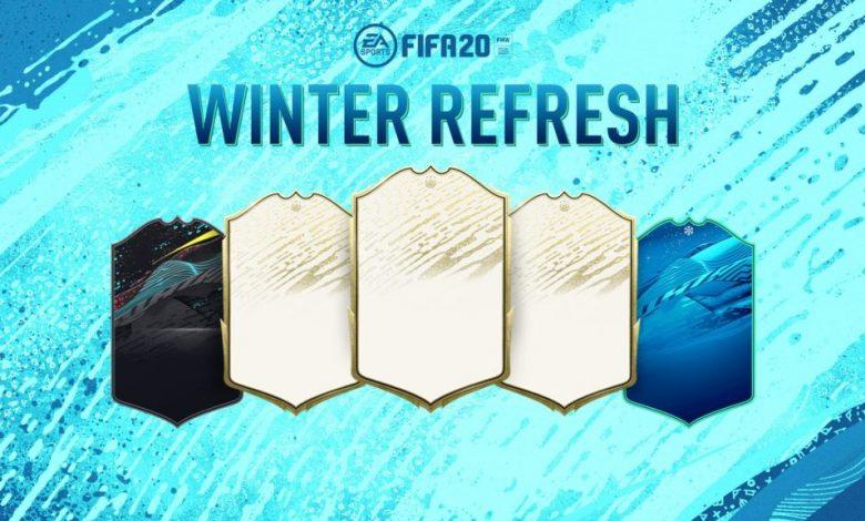 FIFA 20: se anuncia el TOP 50 de Winter Refresh