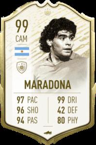 Momentos principales de Maradona