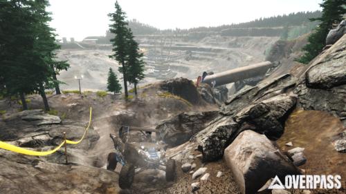 Captura de pantalla del juego Overpass